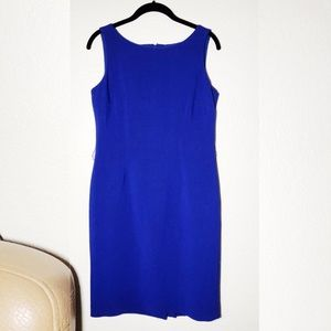 Anne Klein Royal Blue Dress